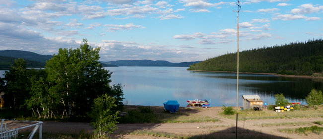 View from Camsell Portage<br>Photo courtesy of CanNorth